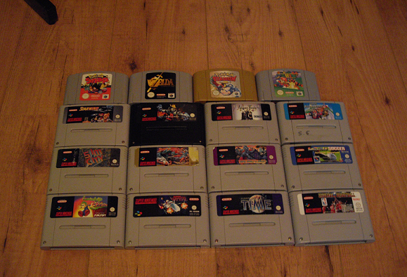 Collection de Peco Nes-N64