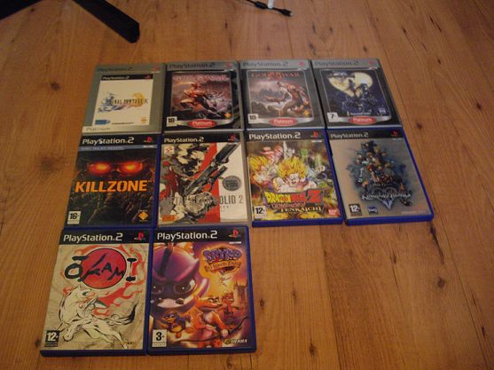 Collection de Peco Ps2