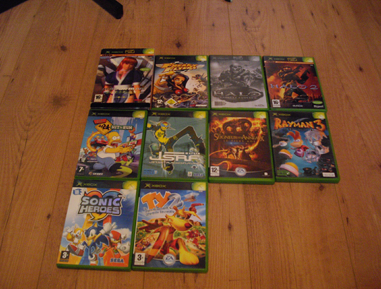 Collection de Peco Xbox1