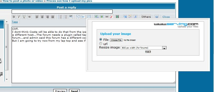 Proces son how I upload my pics  Downloads