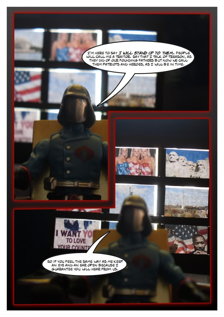 My Gi Joe dio comic SC110