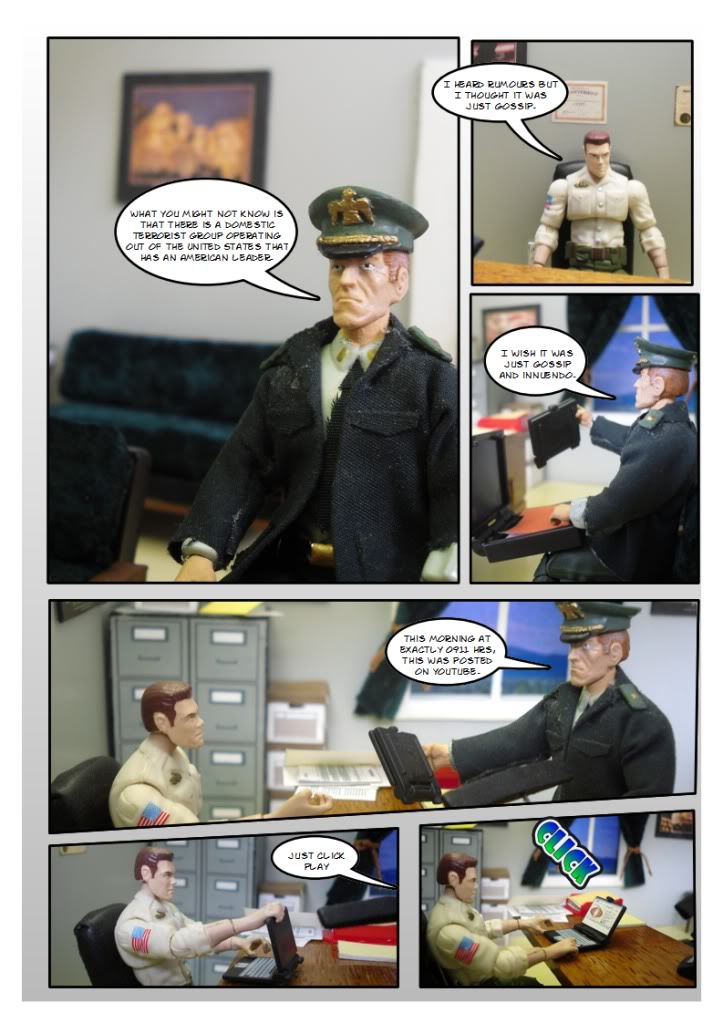 My Gi Joe dio comic SC15