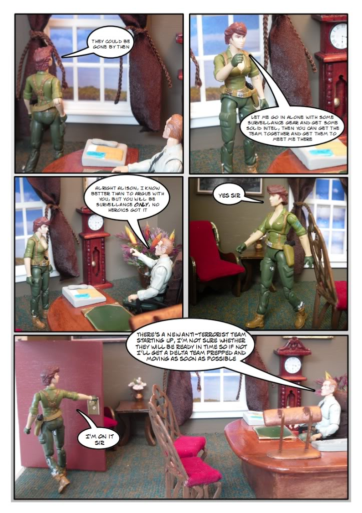 My Gi Joe dio comic Sc103