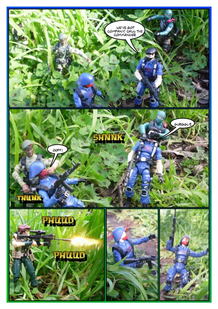 My Gi Joe dio comic Sc203