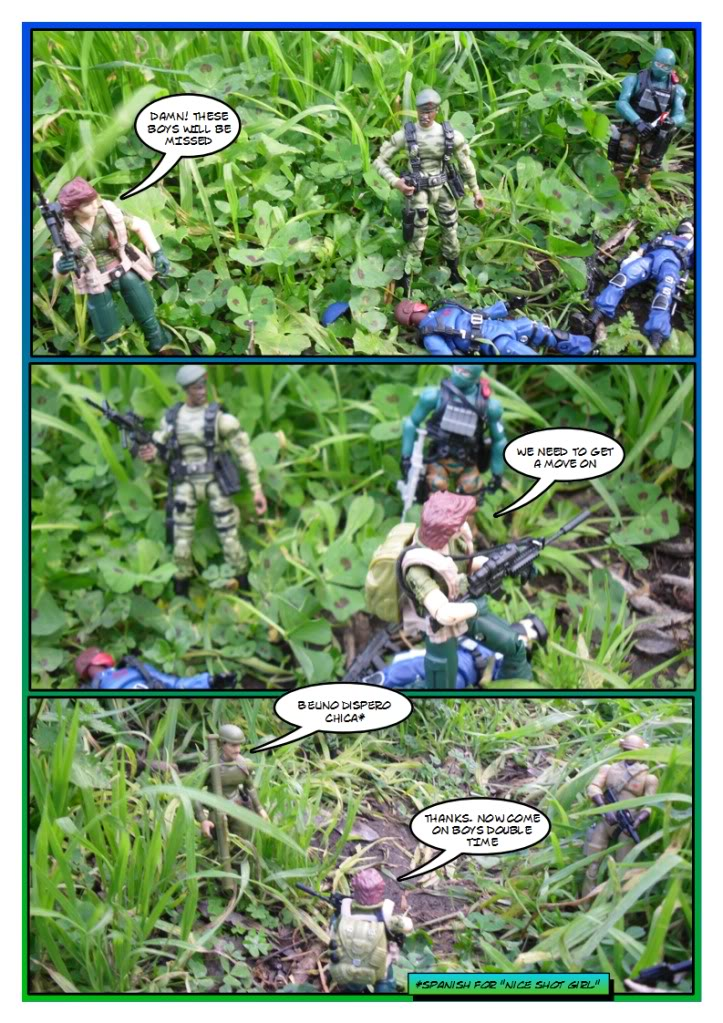 My Gi Joe dio comic Sc204