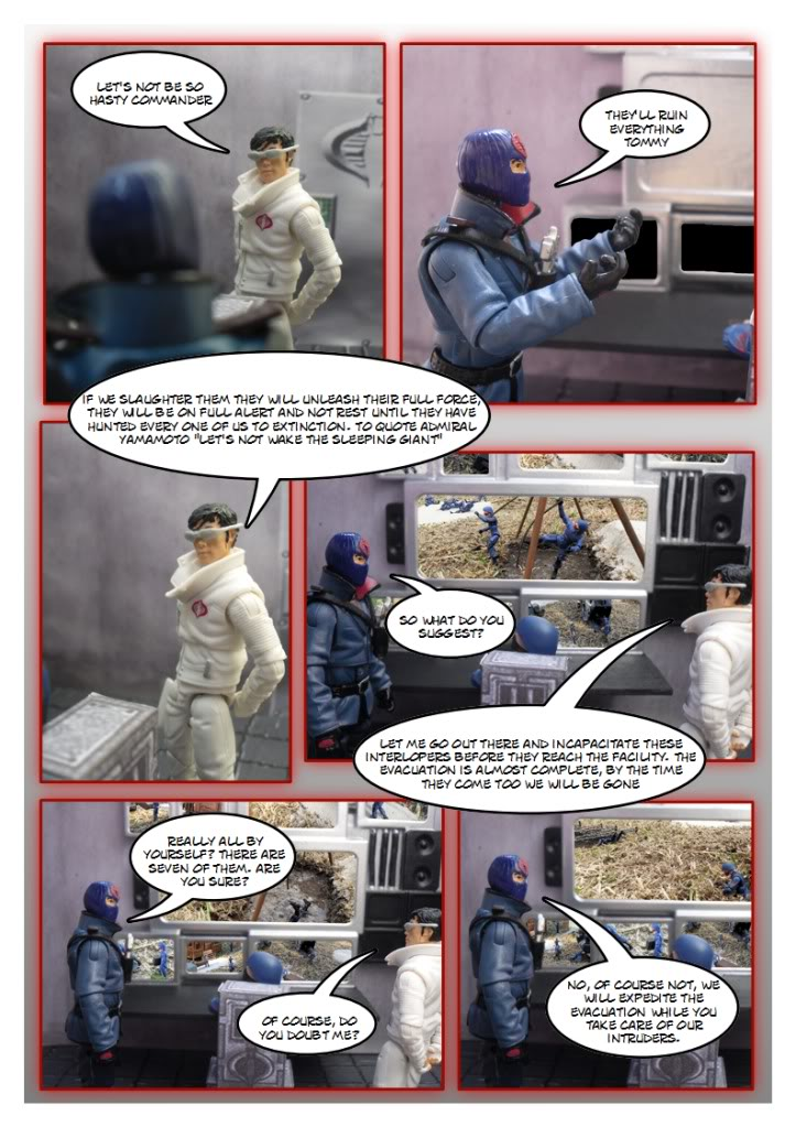 My Gi Joe dio comic Sc232