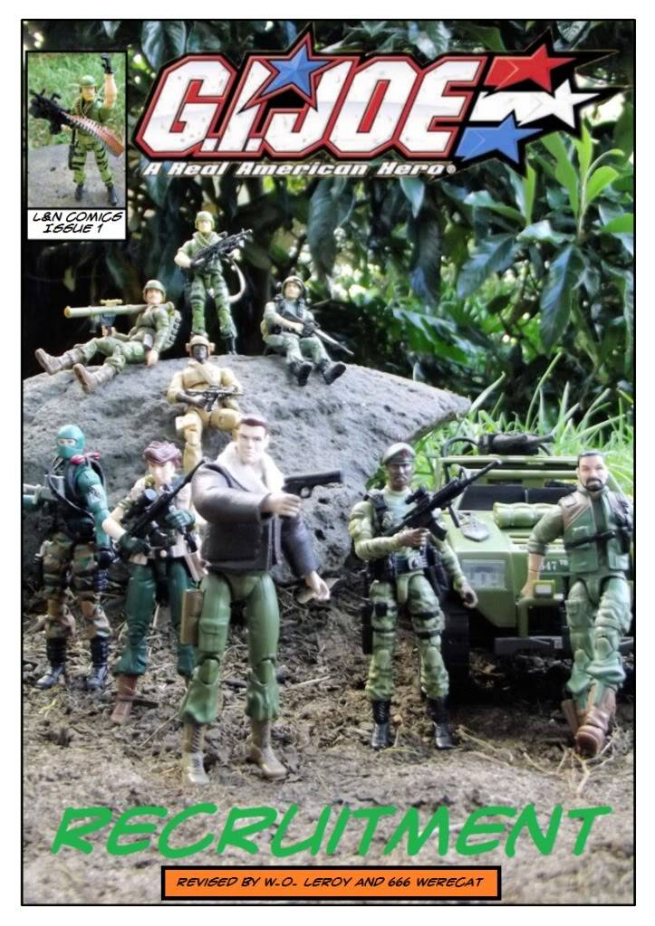 My Gi Joe dio comic C1cover