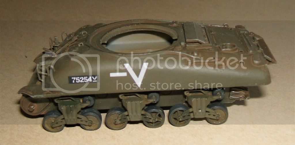 Trumpeter 72nd Israeli M4 A1 76mm Roadwheelsleftside
