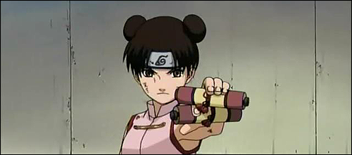 Shageki-ha (Weapon Mastery) Tenten