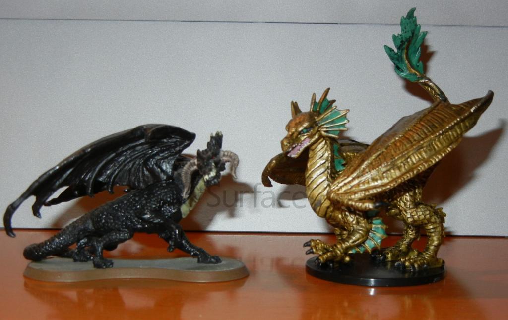 Cool Figures for possible Customs BronzeDragon