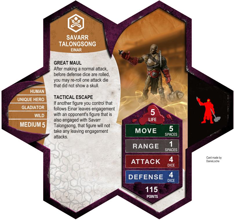 W4 - Malleus (Gladiator) - ready for final SavarrTalonsongArmyCard