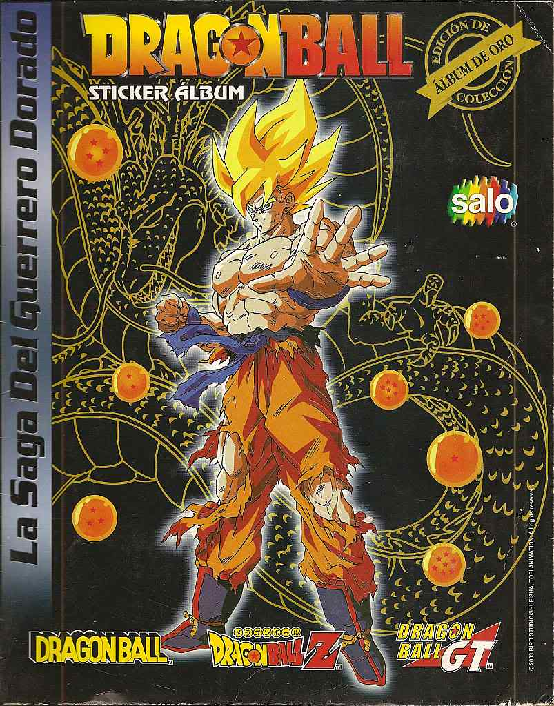 Dragon ball z: album de oro 00