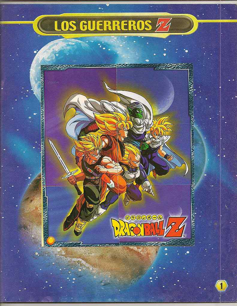 Dragon ball z: album de oro 01