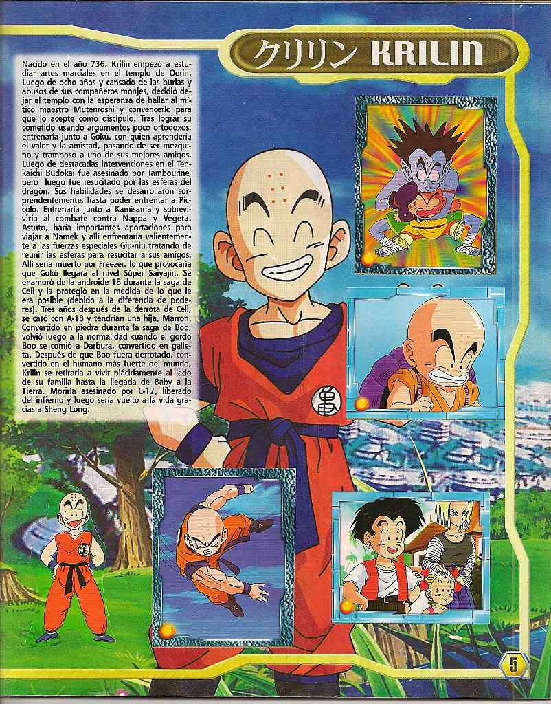 Dragon ball z: album de oro 05