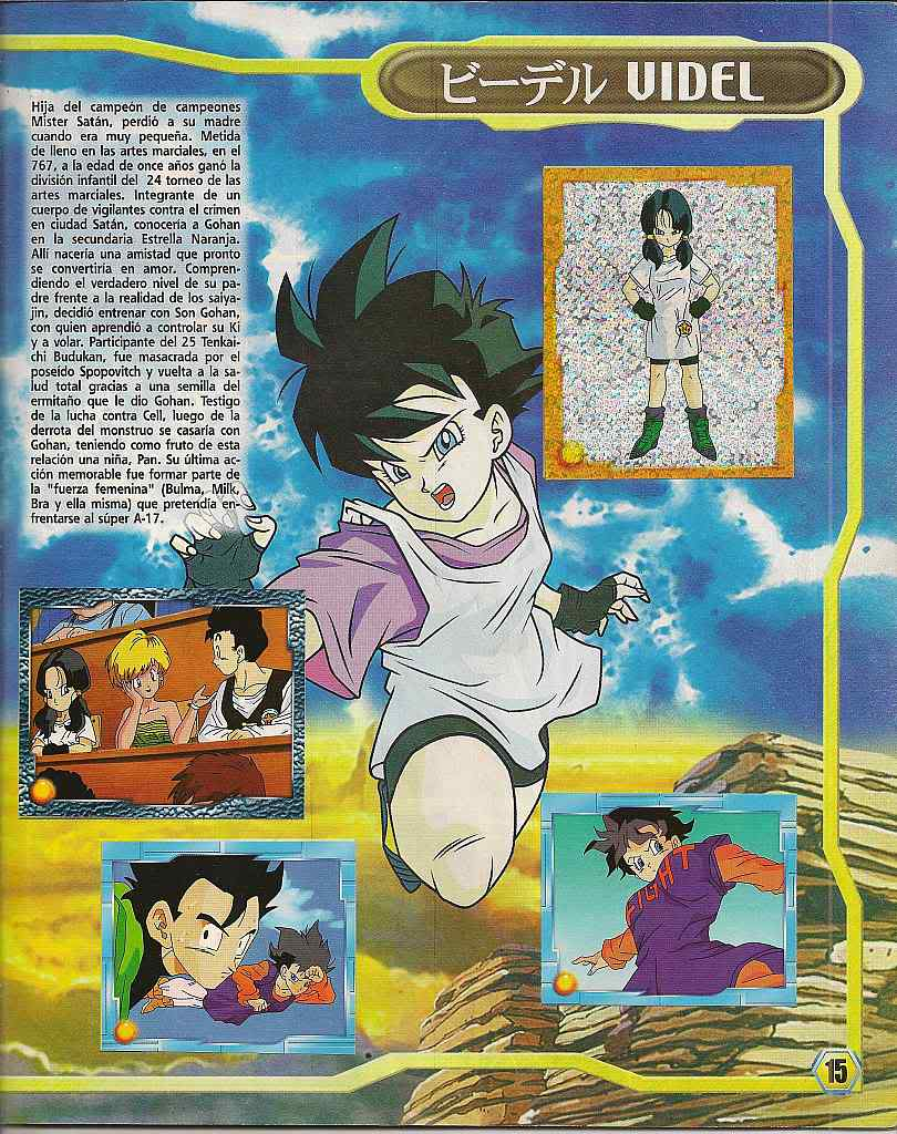 Dragon ball z: album de oro 15