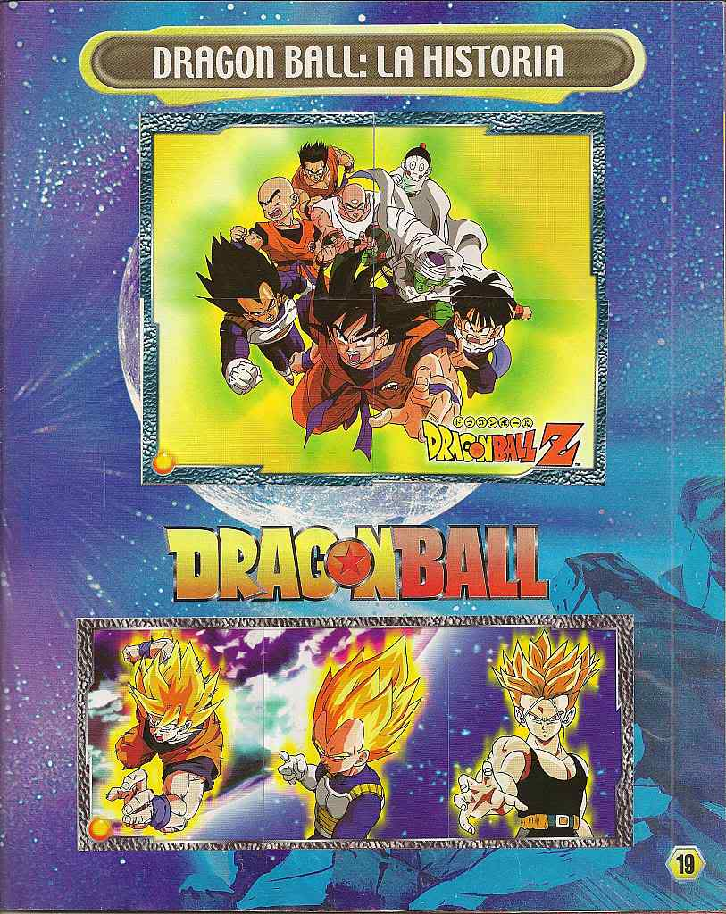 Dragon ball z: album de oro 19
