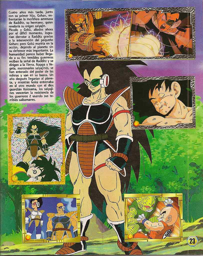 Dragon ball z: album de oro 23