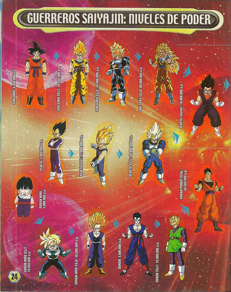 Dragon ball z: album de oro 24