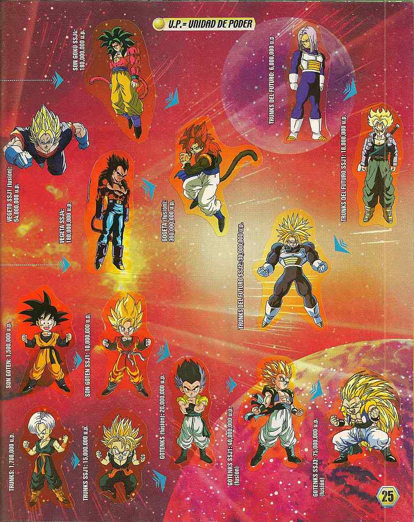 Dragon ball z: album de oro 25