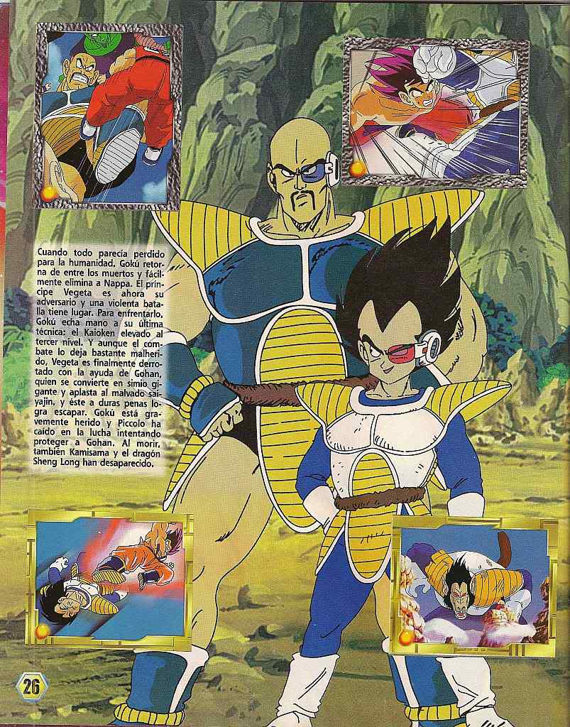 Dragon ball z: album de oro 26