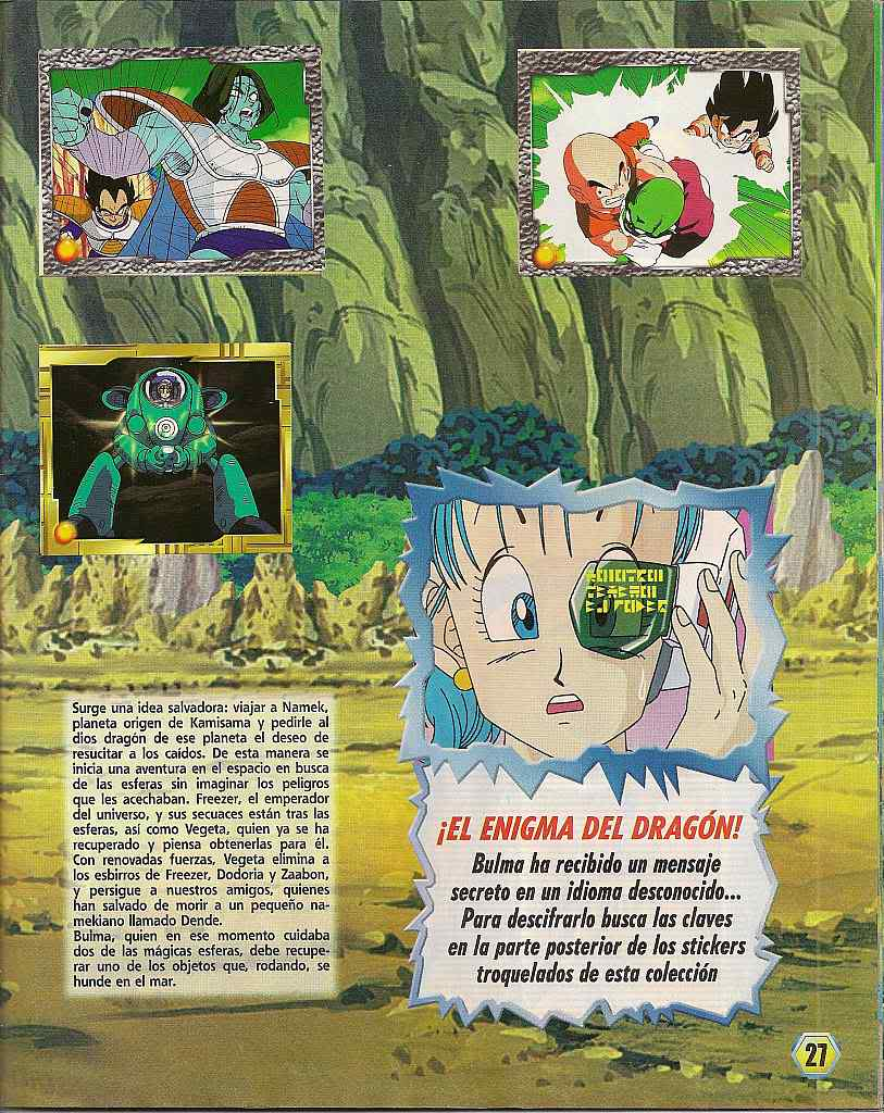 Dragon ball z: album de oro 27