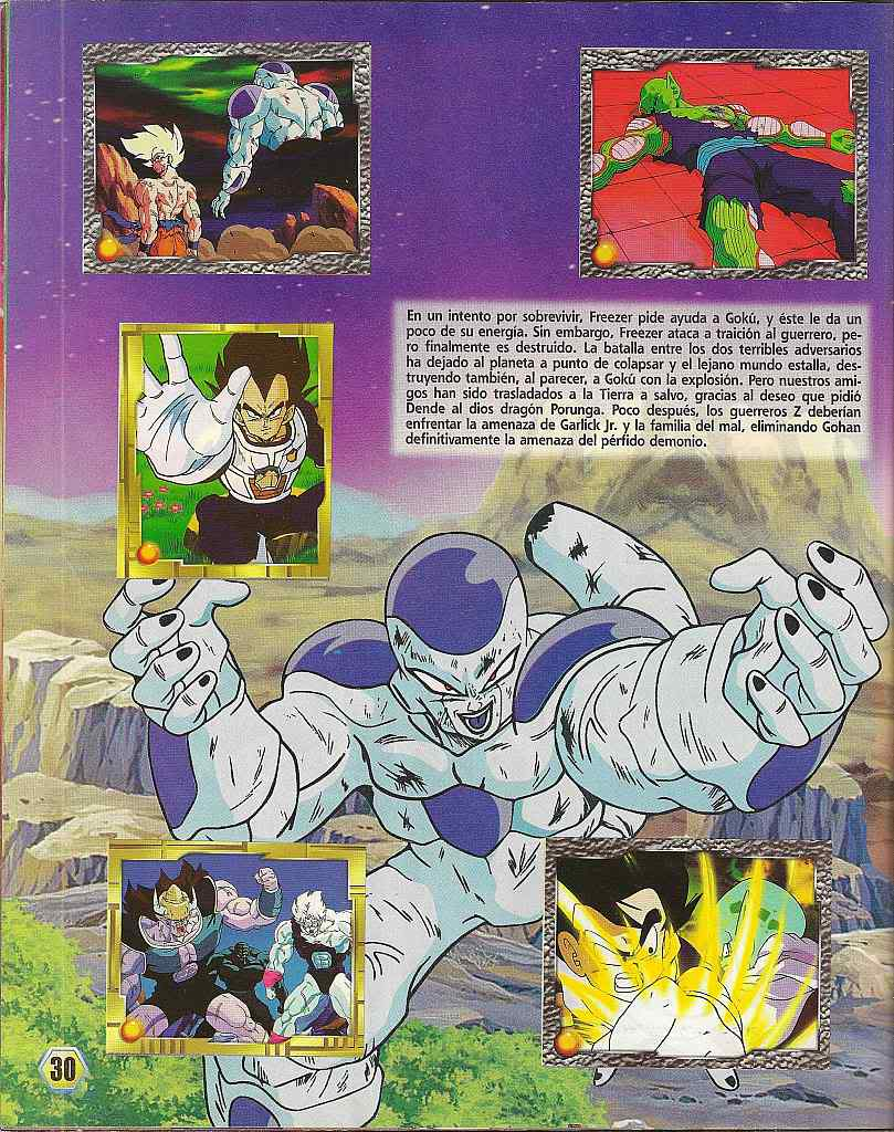 Dragon ball z: album de oro 30