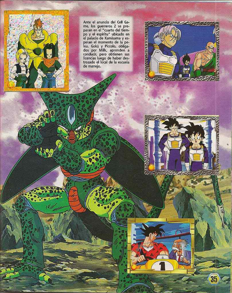 Dragon ball z: album de oro 35
