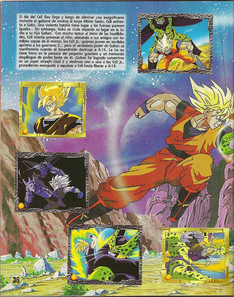 Dragon ball z: album de oro 36