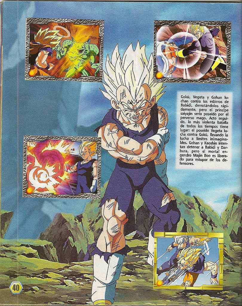 Dragon ball z: album de oro 40