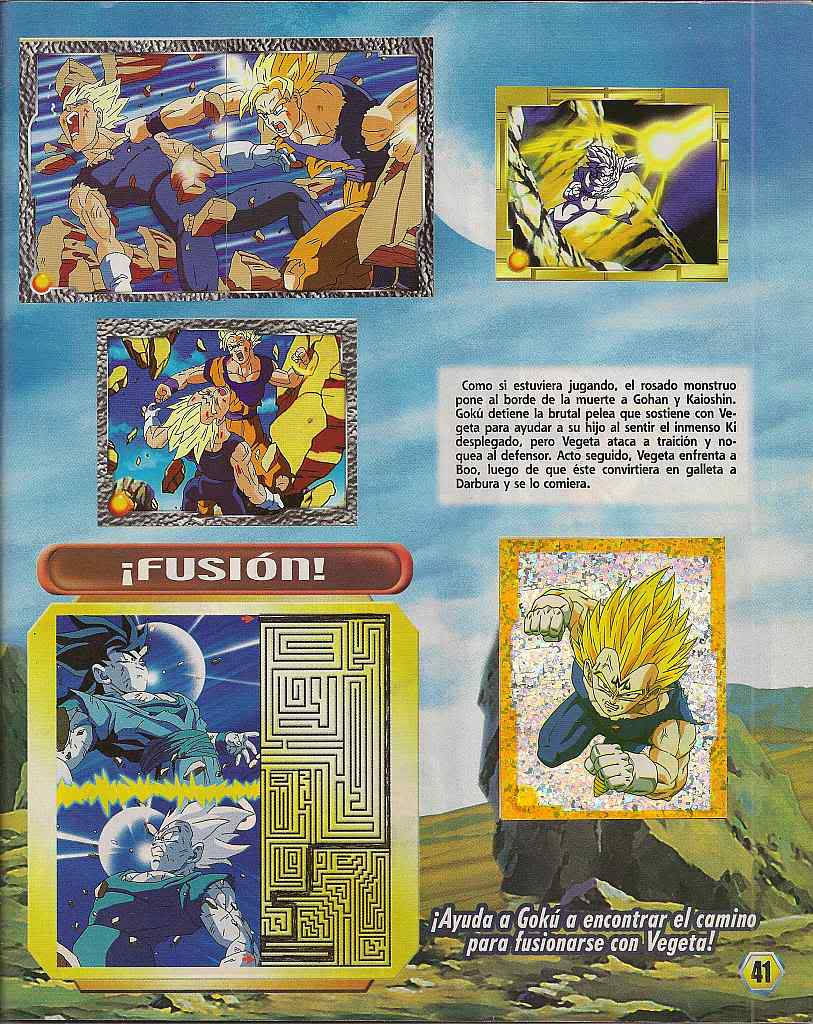 Dragon ball z: album de oro 41