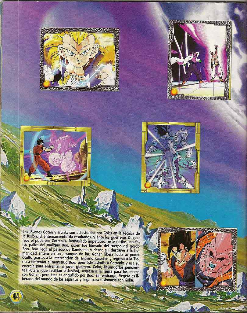 Dragon ball z: album de oro 44