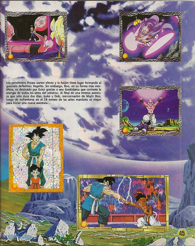 Dragon ball z: album de oro 45