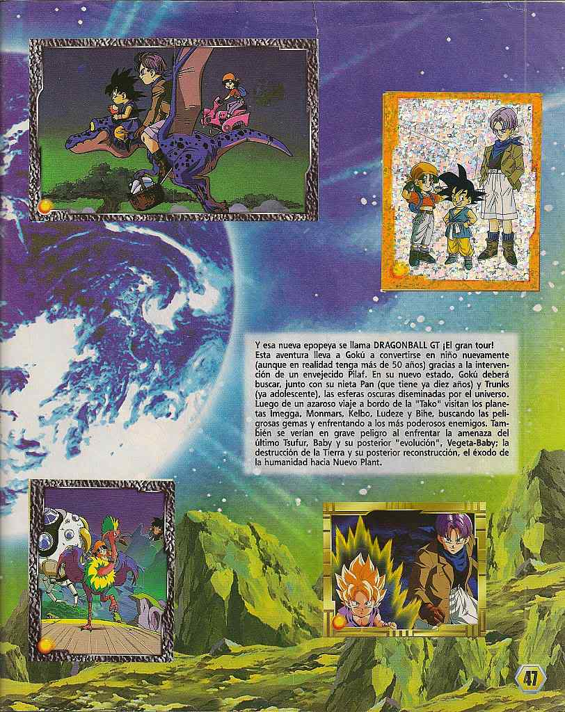 Dragon ball z: album de oro 47
