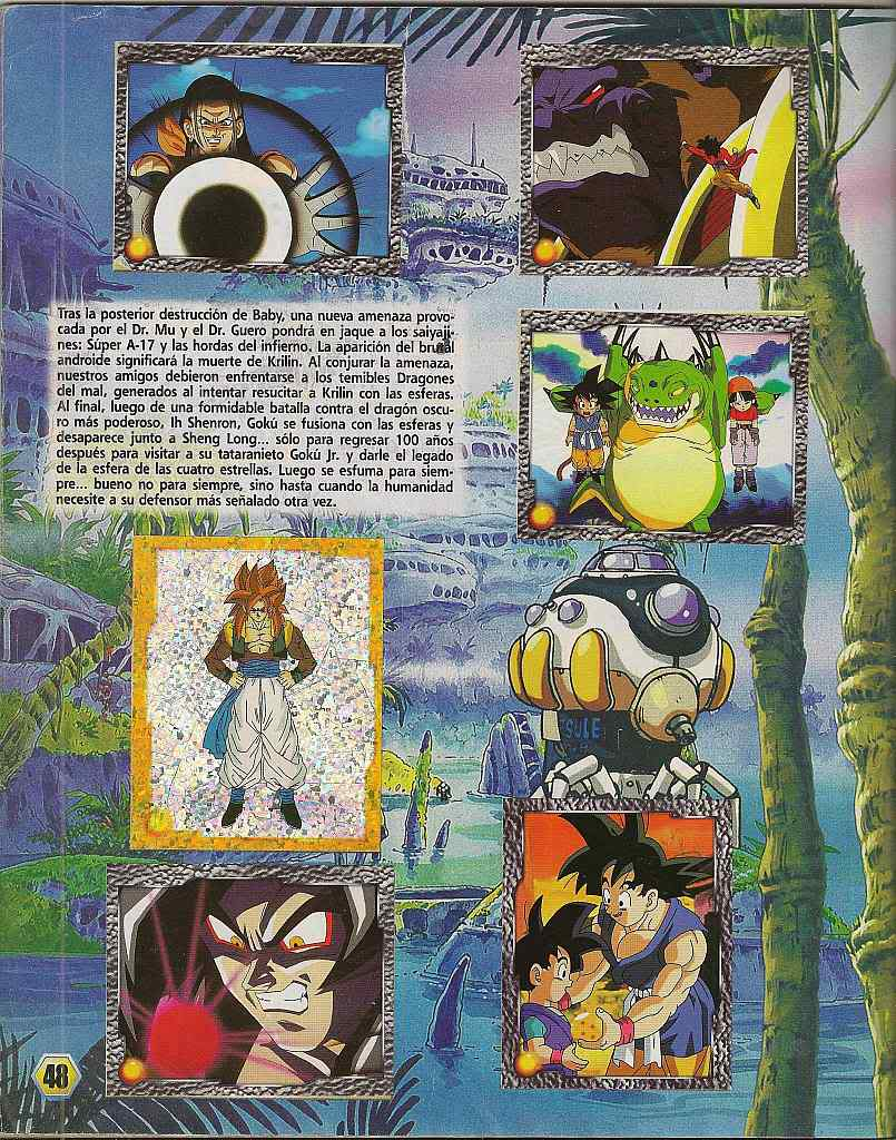 Dragon ball z: album de oro 48