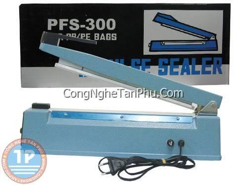 máy hàng túi nilon- máy dán mép túi-máy dán miệng túi Psf-300