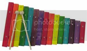 Letters A-Z - Page 4 Xylophones