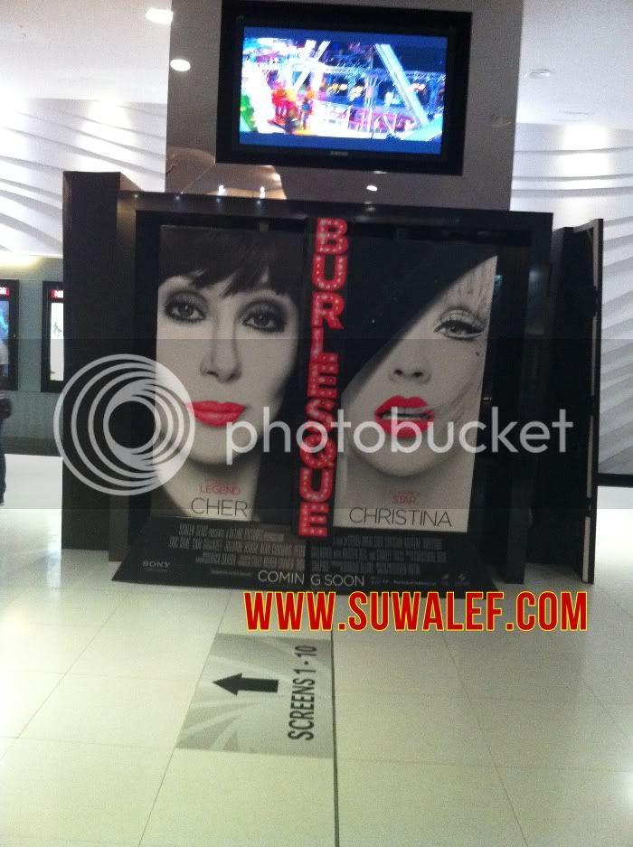 [Fotos] Comienza la Promo 'Burlesque' en las Salas de Cine (Reunamos Fotos) Burlesquedubai