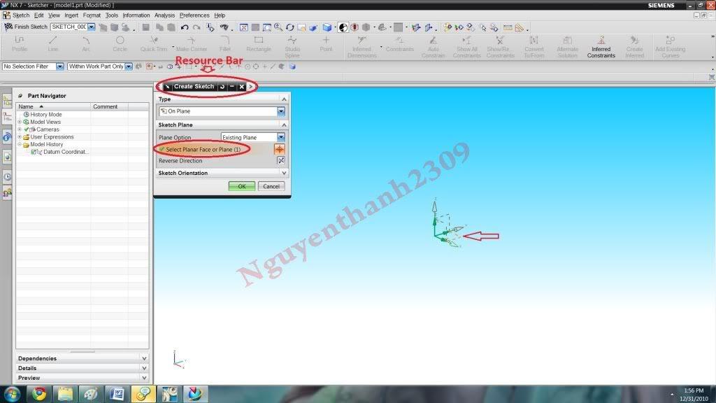 Hướng dẫn bài tập Unigraphic NX - Bài 1 NX_3