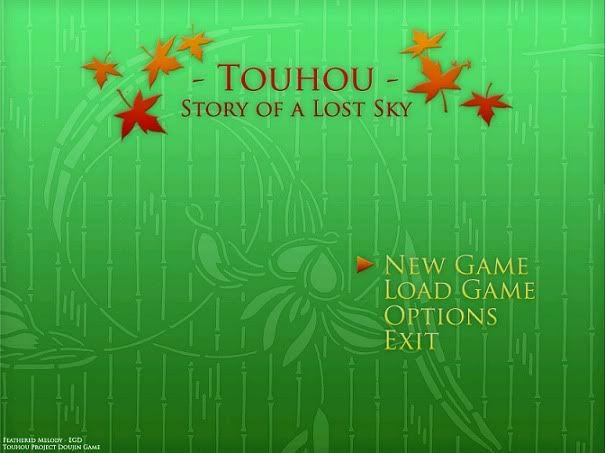 Touhou - Story of a Lost Sky Portada