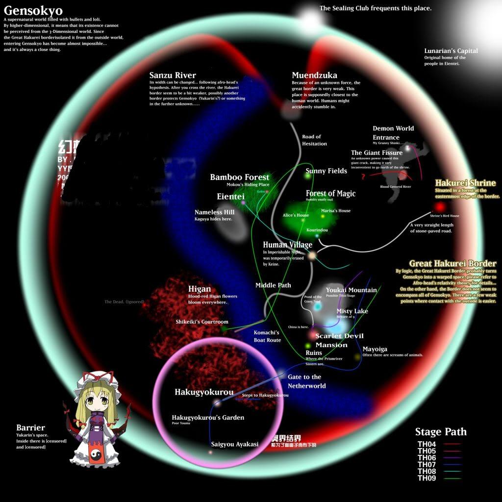 Mapas de Gensokyo 1212748409328