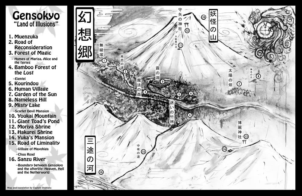 Mapas de Gensokyo GensokyoMapEnglish2