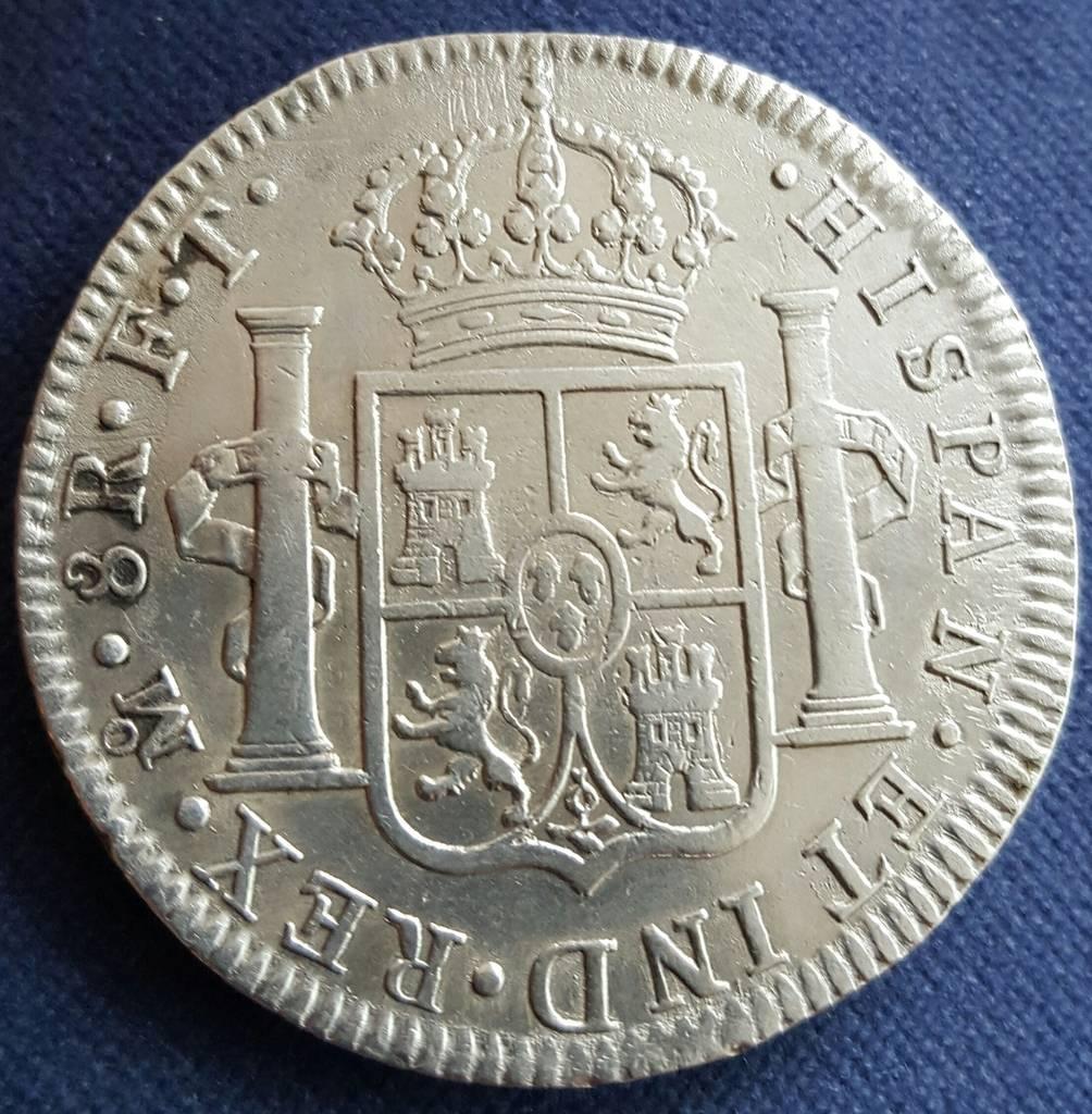 Mis primeros 8 reales. 1802 Carlos IV.Consulta. 20151231_102942-1_zpsp1bupjfo