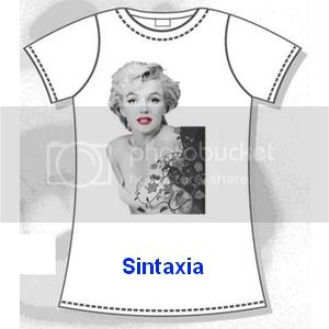 Que chula la Camiseta!!!!!! Camiseta-chica-marilyn