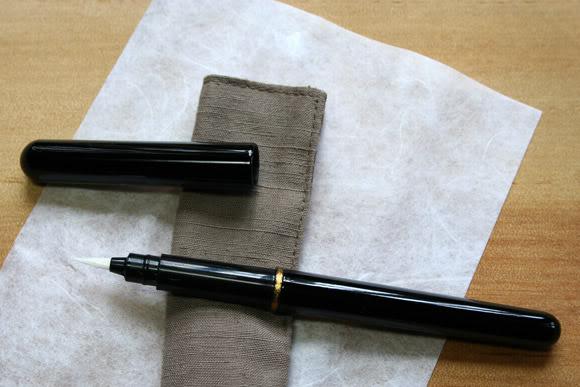 [Tin tức] Bút Lông 'Fude' Sơn Mài hiệu Okaju - Kyoto Okaju-fude-pen-5