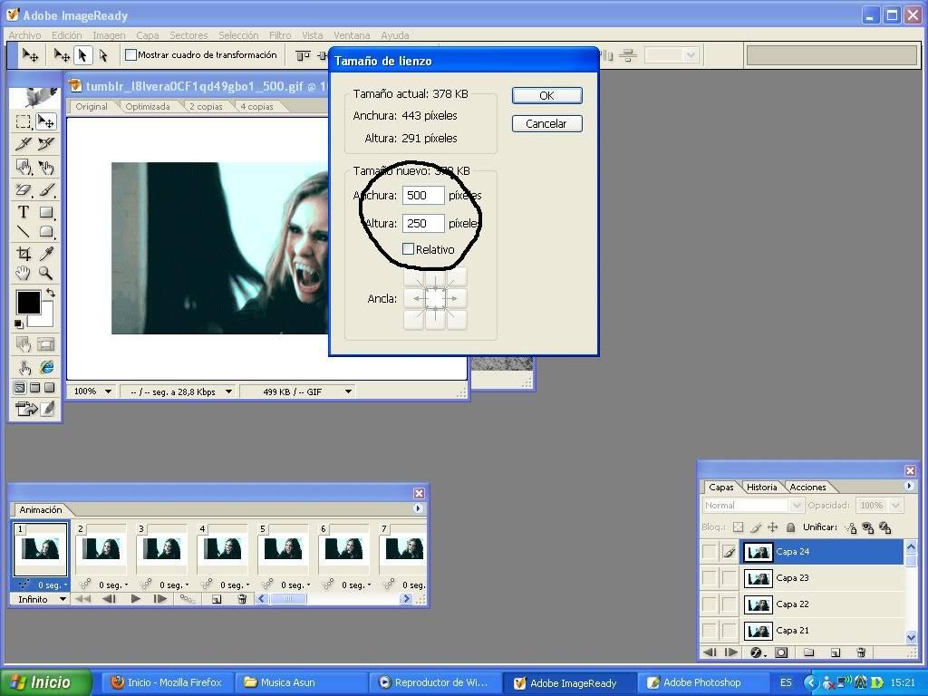 Poner un gif en una imagen GIF4