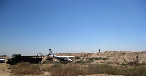 mexicali - Cae avioneta sospechosa en el Valle de Mexicali 21/Junio/2011 Avineta01