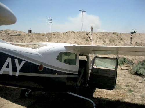mexicali - Cae avioneta sospechosa en el Valle de Mexicali 21/Junio/2011 Avioneta-0