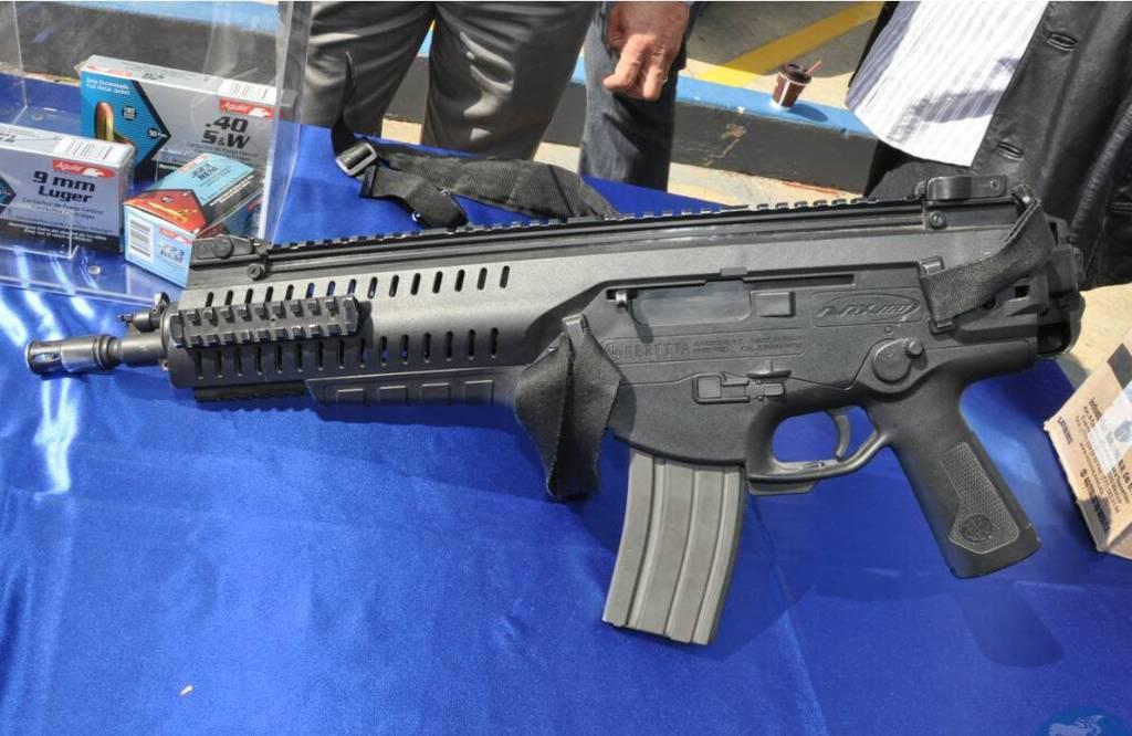 Beretta ARX-160 calibre 5.56x45mm en México Entregadearmamento2