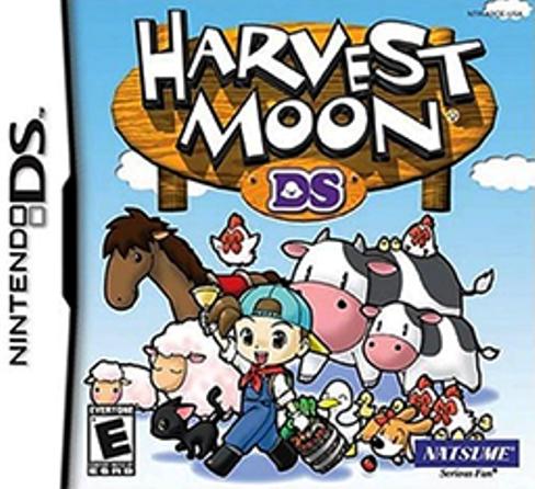 Juego Nintendo DS HarvestMoonDS