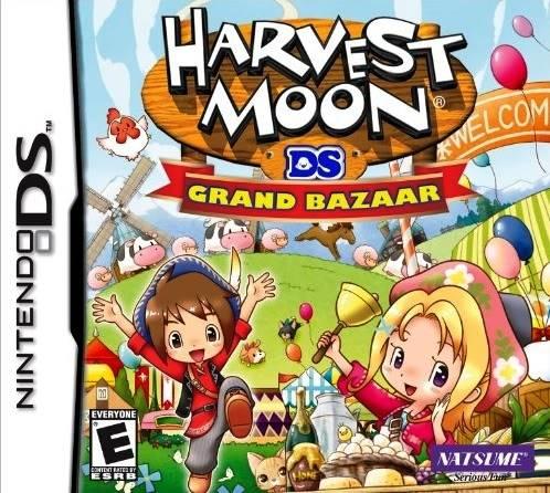 Juego Nintendo DS HarvestMoonDsGrandBazaar